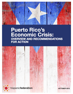 Puerto Rico's Economic Crisis: Overview and Recommendations for Action